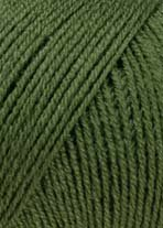 LANG YARNS Merino 400 Lace - Farbe: Olive (0098) - 25 g / ca. 200 m Wolle -
