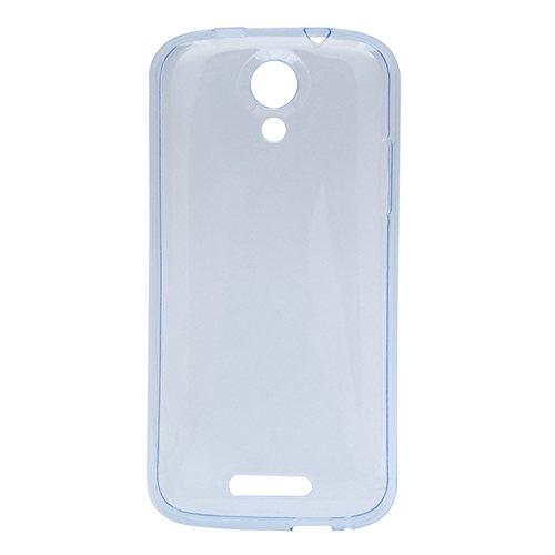 Guran® Weiche Silikon Hülle Cover für Doogee Nova Y100X Smartphone Bumper Case Schutzhülle-blau
