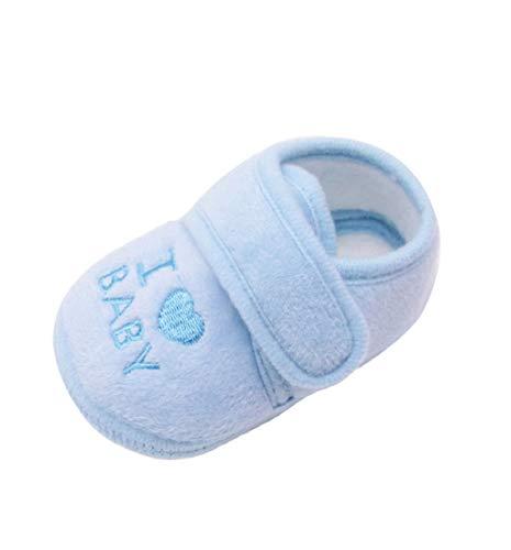 Chaussures Bébé Binggong Chaussures Nouveau-né bébé Fille et Garçon Chaussures Souples Semelles Antidérapantes Bloc Impression Chaussures de Berceau