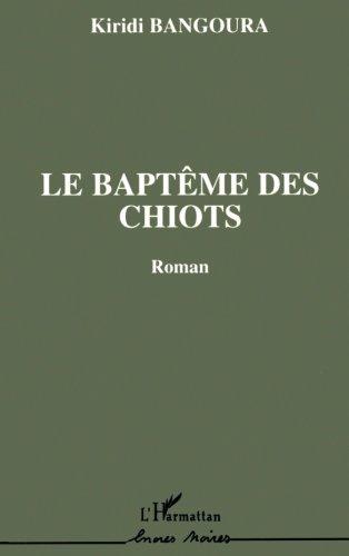 Le baptême des chiots