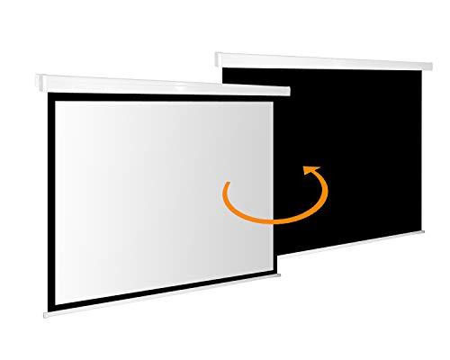 Beamer Rolloleinwand Slender Line 220 x 124 cm – Format 16:9 – Rollo Leinwand - 2