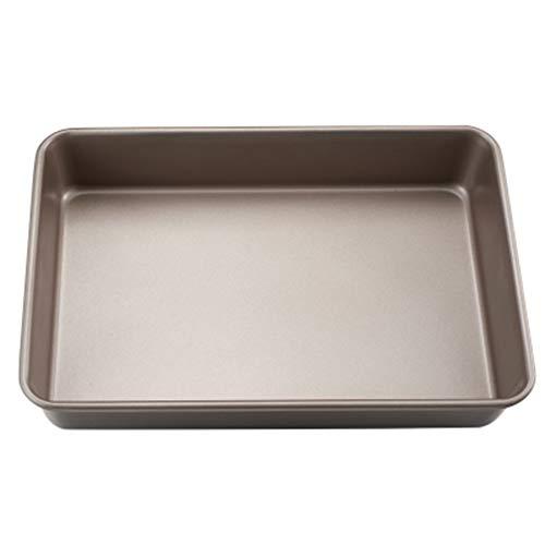 YYH Backenwerkzeuge, Goldene Rechteckige Antihaft-Backform, Ofen Haushalts Brot Keks Kuchenform Ist Nicht Klebrig.