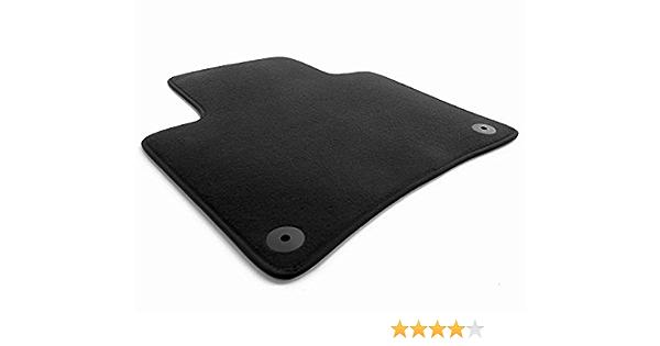 Kh Teile Fahrermatte Passend Für Touareg 7p Velours Fußmatte Premium Qualität 1 Teilig Schwarz Auto