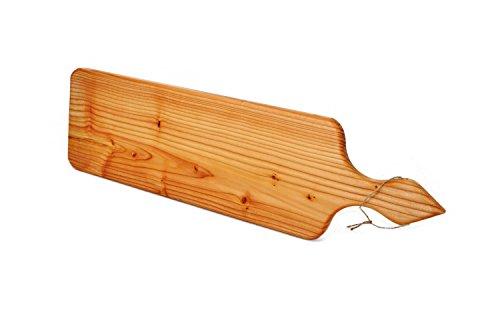 Planche à découper Planche de pin, baguette, longueur 66 cm, largeur 20 cm, épaisseur 2,5 cm, planche fromage à suspendre