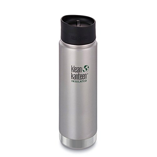 Klean Kanteen 1000610 Gourde Isotherme Mixte Adulte, Brushed Stainless, 592 ML