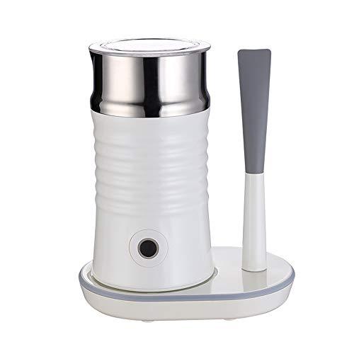 Cocoroto Edelstahl 3 Milchaufschäumer mit Mixstab Elektro Milch Dampfer automatische Schaum-Maschine für Kaffee Milchschäumer Warmer mit Strix Temperaturregler,Weiß