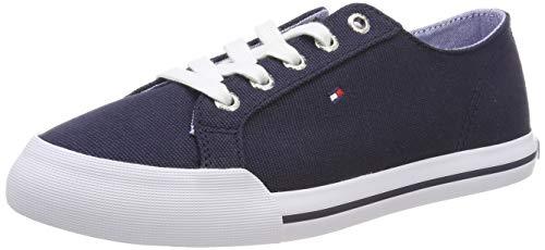 Tommy Hilfiger Damen Tommy Essential Sneaker, Blau Navy 406, 38 EU - Navy Frauen Schuhe