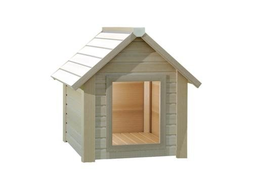 """Apex Roof Eco Dog Kennel. Better than wood, better than plastic - Amazing ! (Small 24.5x21.5x25"""" (620x535x635 mm)) 1"""