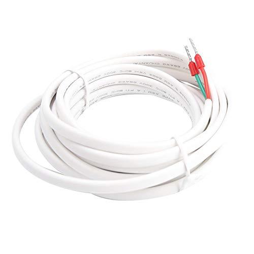 FTVOGUE 3 Meter Thermostat Sensor Sonde Fußbodenheizung Temperaturregler Sensorkabel (Fußbodenheizung-kabel)