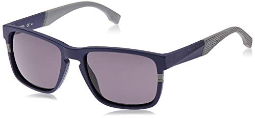 Hugo Boss 0916/S IR Gafas de sol, Azul (Mtbluee Grey/Grey Blue), 57 Unisex-Adulto