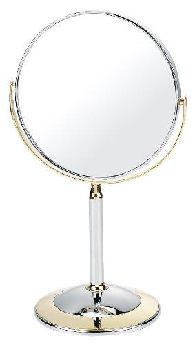 Danielle - Specchio cosmetico a 7 ingrandimenti, con base d'appoggio,