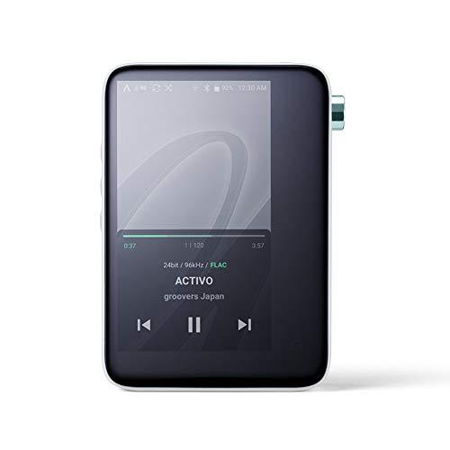 Musik Player,Hi-Res MP3 Player mit WiFi und Bluetooth,Activo CT10 Audio Player Unterstützung DSD256 für Travel Fitness Walk 16GB schwarz (Mp3 Wifi)