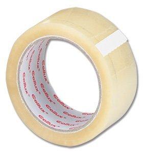 72 x Clair Buff Emballage de colis Tape - 48 mm x 66 m