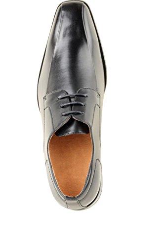 Chaussure type Derby Noir Homme pour Marié Noir