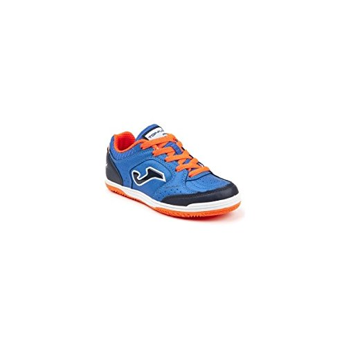 -Joma Scarpe Top Flex JR 804 Royal Laces Indoor Calcetto Futsal (34)