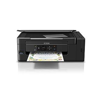 Epson EcoTank ET-2650 nachfüllbares 3-in-1 Tintenstrahl Multifunktionsgerät (Kopierer, Scanner, Drucker, DIN A4, WiFi, Display, USB 2.0) große Tintenbehälter, hohe Reichweite, niedrige Seitenkosten