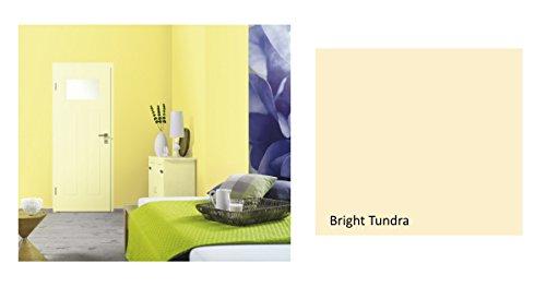 Alpina Colorful World Innenfarbe, 2,5 L. Bright Tundra, Hellgelb, matt
