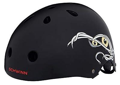 Schwinn Boys' The Mummy BMX Helmet, Black, M from Pacific Cycle