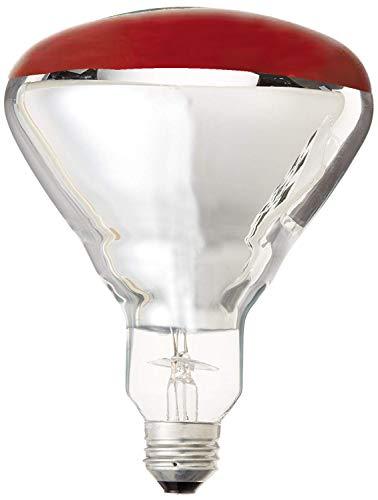 GE LIGHTING 48069125-watt R40Wärme Lampe Flutlicht Licht Glühbirne, klar, 250 wattsW 120 voltsV - Ge Cfl Lampen