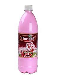 Floroma Deodorant Floor Cleaner Rose (1L, Perfumed)
