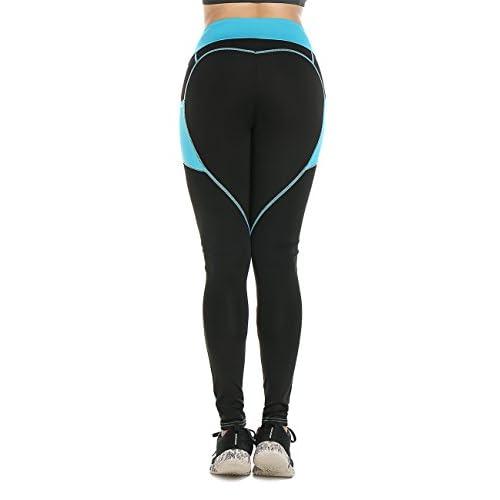 316TXcFn8aL. SS500  - Women Heart-shaped Power Stretch High Waist Fitness Running Workout Leggings