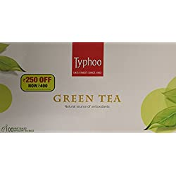 Typhoo Green Tea, 100 Tea Bags