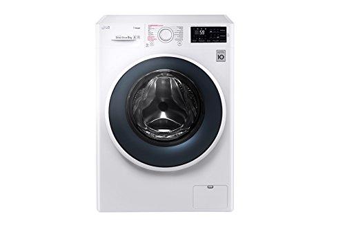 LG FH4J6TS8 Libera installazione Carica frontale 8kg 1400Giri/min A+++-30% Bianco lavatrice