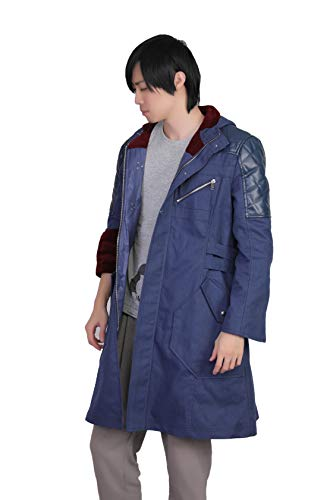 Evere DmC Uniform Blau Mantel Spiel Cosplay Kostüm -