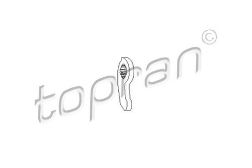 TOPRAN 109 641 Ausrückgabel, Kupplung