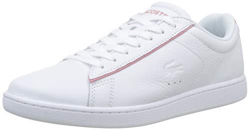 Lacoste Damen Carnaby Evo 319 9 SFA Sneaker, Weiß (White/Pink B53), 39 EU