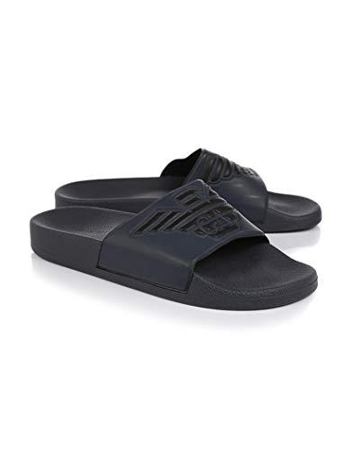Emporio Armani Zapatillas de hombre plastic shoes beachwear artículo X4PS01 XL828 SLIPPER