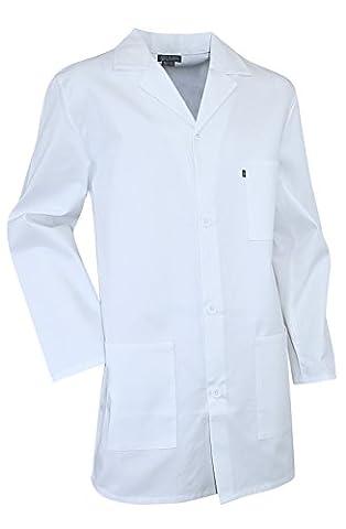 Blouse blanche chimie étudiant et lycéen Pigment LMA - taille 3 - M