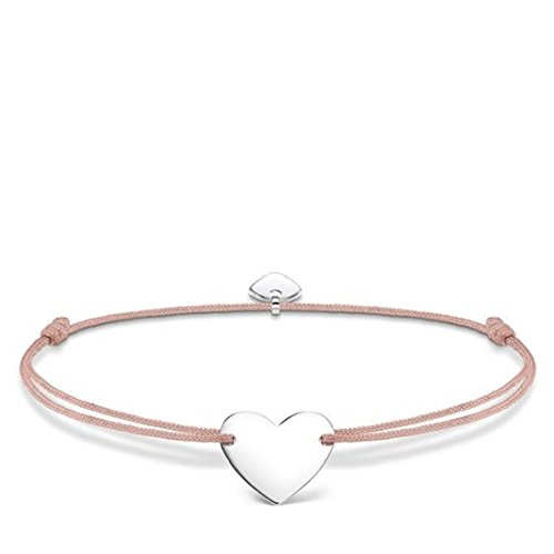 THOMAS SABO Damen Armband Little Secret Herz 925er Sterlingsilber LS026-173-19