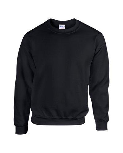 Crewneck Pullover (Heavy Blend Crewneck Sweatshirt - Farbe: Black - Größe: L)