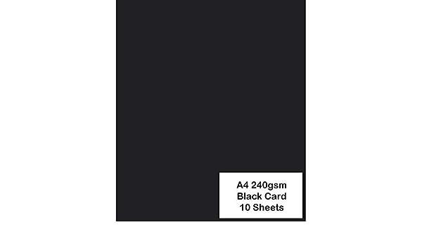 Hot Pink 240 g//m/² 10 Blatt ARK Farbiger Karton A4