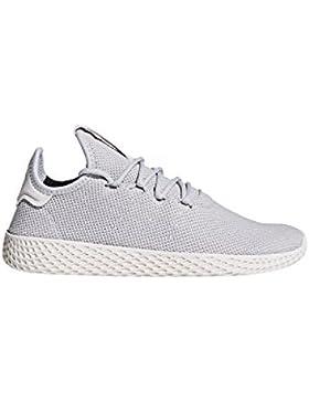 adidas Pharrell Williams Tennis hu Damen Sneaker Grau