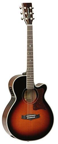 Tanglewood TW55VSE - Guitarra acústica, acabado natural brillo