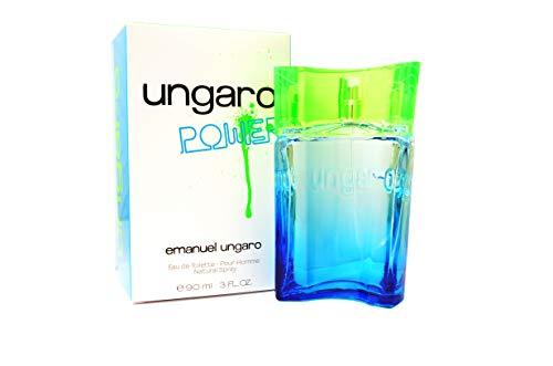 Emanuel Ungaro Power, Eau de Toilette pour homme, spray per lui, 90ml