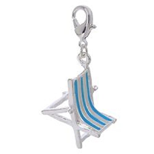 lovely-blue-and-white-stripe-sun-chair-clip-on-charm-3d-silver-plate