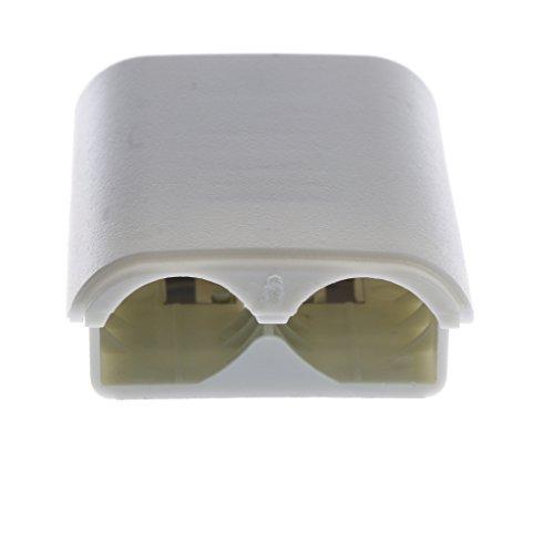 kokiya Batterie Hintertür Abdeckung Shell Fall Für Xbox 360 Wireless Controller - Weiß (Xbox360 Shell Slim)