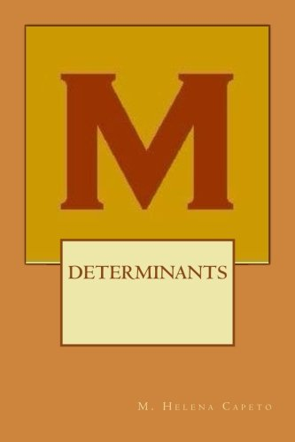 Determinants: Algebre Lineaire