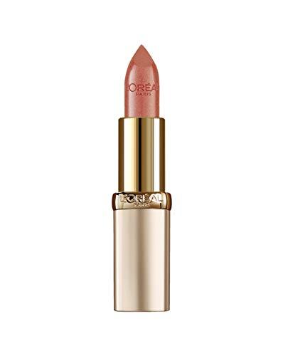 Ginger Lippenstift (L'Oréal Paris Color Riche in Nr. 274 Ginger & Chocolate, farbintensiver Lippenstift mit pflegenden Ölen, cremige Textur für maximalen Lippenkomfort)