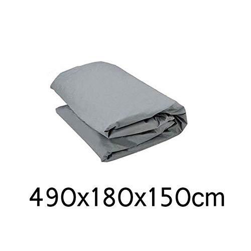 HIZH Full Cover Anteriore dell'automobile Wndow Copertura/Schermo di Sun della Copertura della Protezione di Protezione Esterna Polvere del Vento Neve Pioggia Auto Accessori Styling, 490X180X150Cm