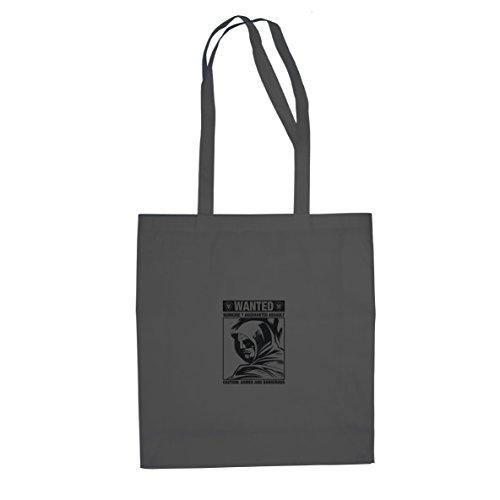 Wanted Arrow - Stofftasche/Beutel, Farbe: grau
