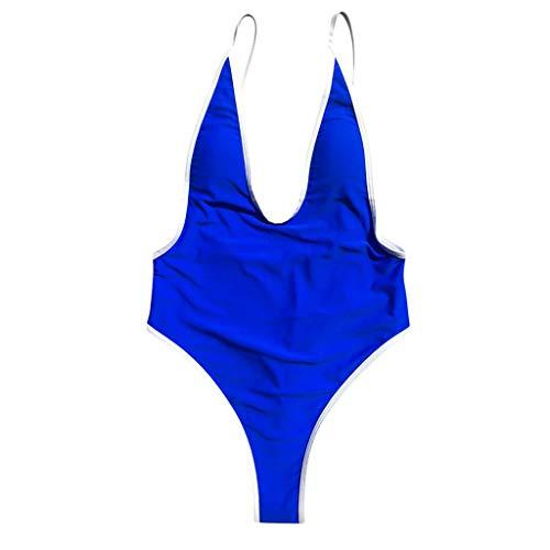 837dbe5dc ZARLLE Ropa De Baño Bañador de una Pieza Bikini Mujer 2019 Bikini Push Up  Mujer Sin