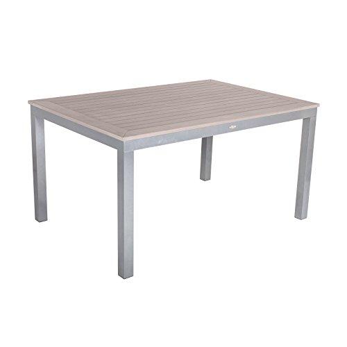 Dunklen Esstisch Aus Nussbaum (SOL Bistro 150cm 6–8-seater Rechteckiger Tisch–Nussbaum dunkel)