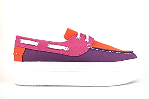 scarpe donna JC PLAY by JEFFREY CAMPBELL 40 sneakers zeppe multicolore AH427
