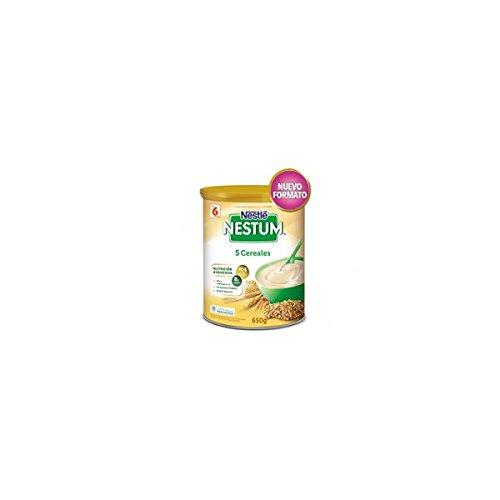 NeSTUM Pappa 5 cereali latta 650 g.