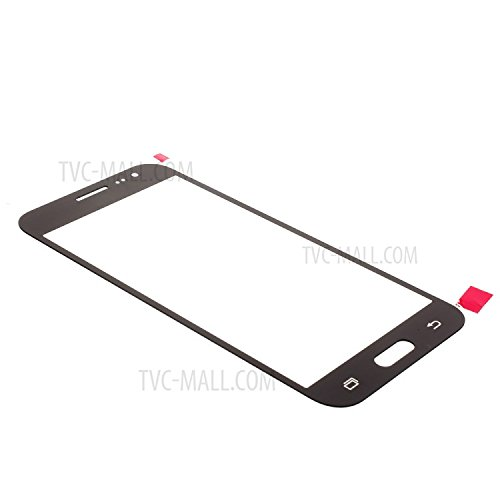Front Outer Replacement Glass Lens For Samsung Galaxy J2 Black.