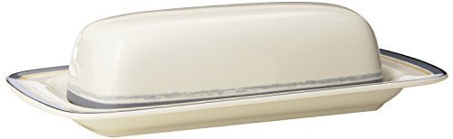 Noritake Java-graphit (Noritake Java Graphite Swirl Covered Butter by Noritake CO., INC. - DROPSHIP)